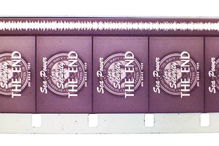16mm film s optickou zvukovou stopou